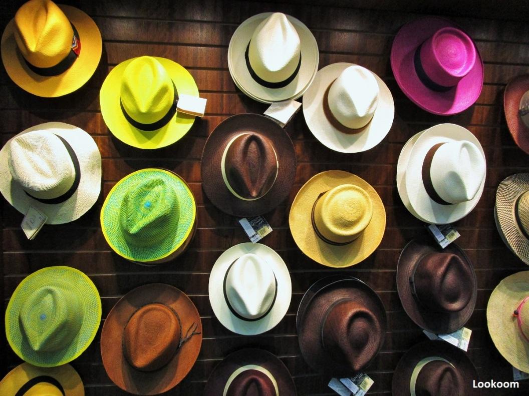 Panama hat, Quito, Ecuador