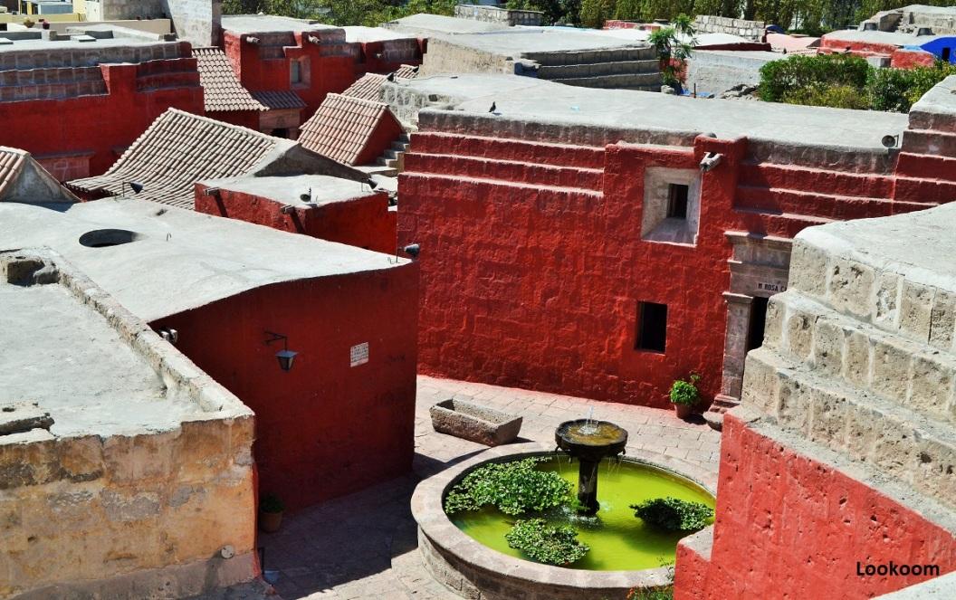 Terraces, Santa Catalina, Arequipa, Peru